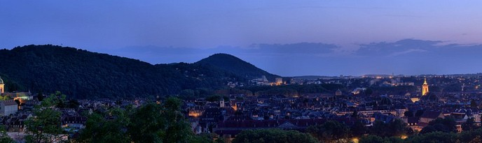 Panorama HDR - Besanon depuis le fort de Beauregard - Doubs - Franche Comt