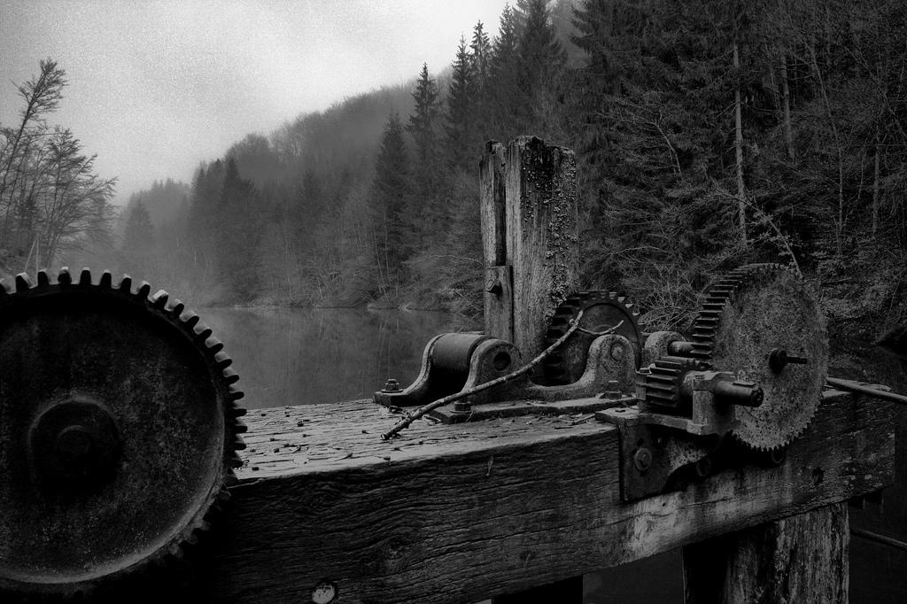 Barrage sur la Semouse