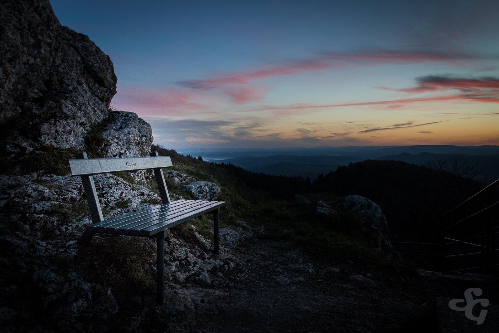 Take a rest ... au mont Poupet