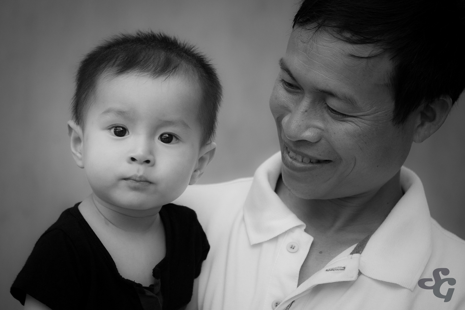 Father and son - Vietnam 2015