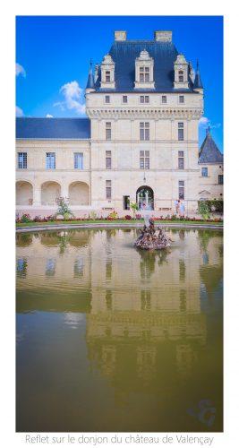 reflet-sur-le-donjon-du-chateau-de-valencay