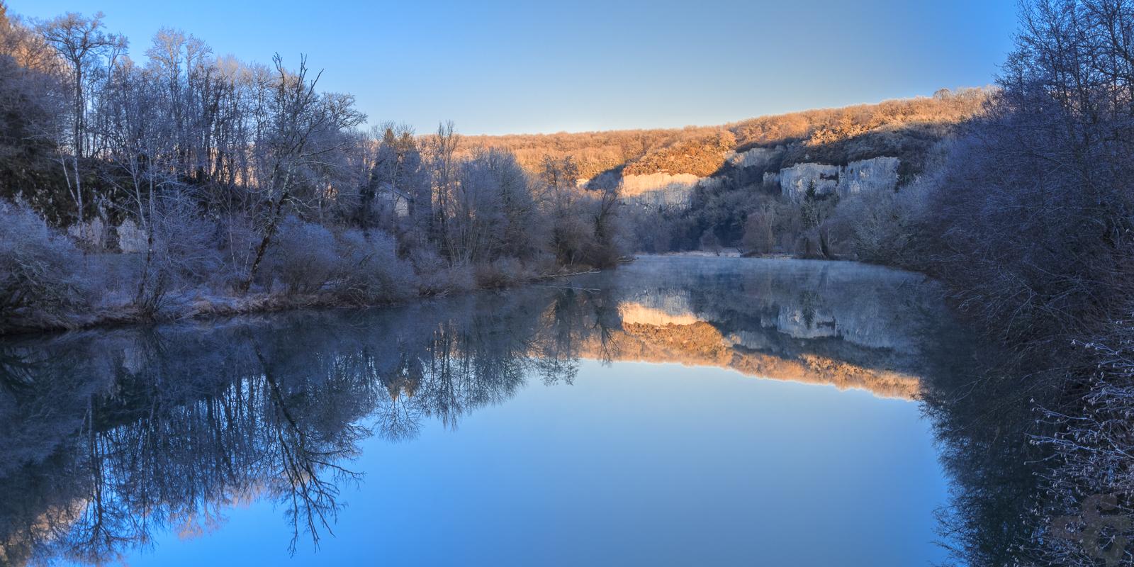 Pont de ch tillon vall e de la loue st phane gavoye for On traverse un miroir